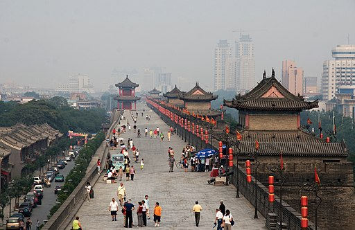 Xi'an is one of several essential destinations on a trip to China