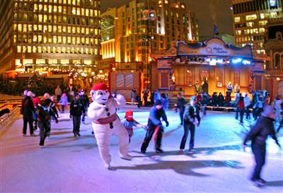 Winter Carnival in Quebec City, Canada 1