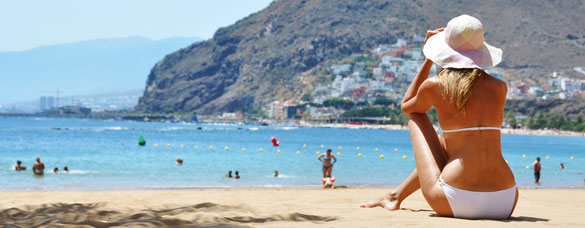 Five of the Best Beaches in Tenerife 1