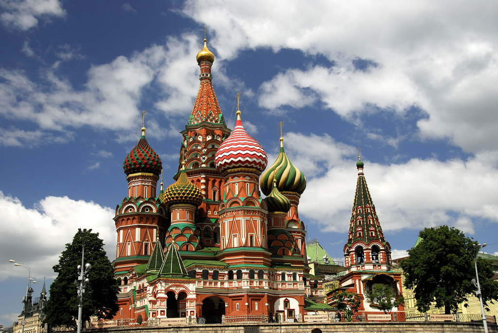 Sights to See in Moscow, Russia 1