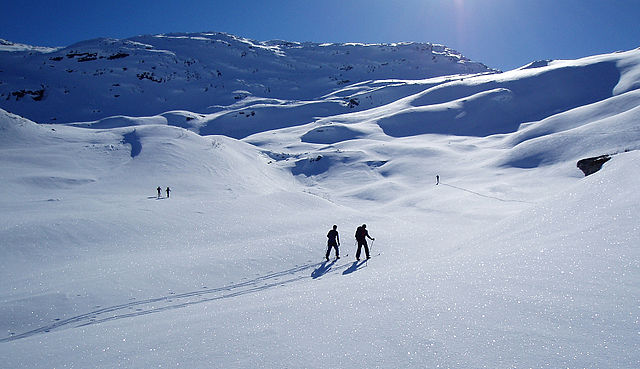 Epic ski touring routes in the Alps 1