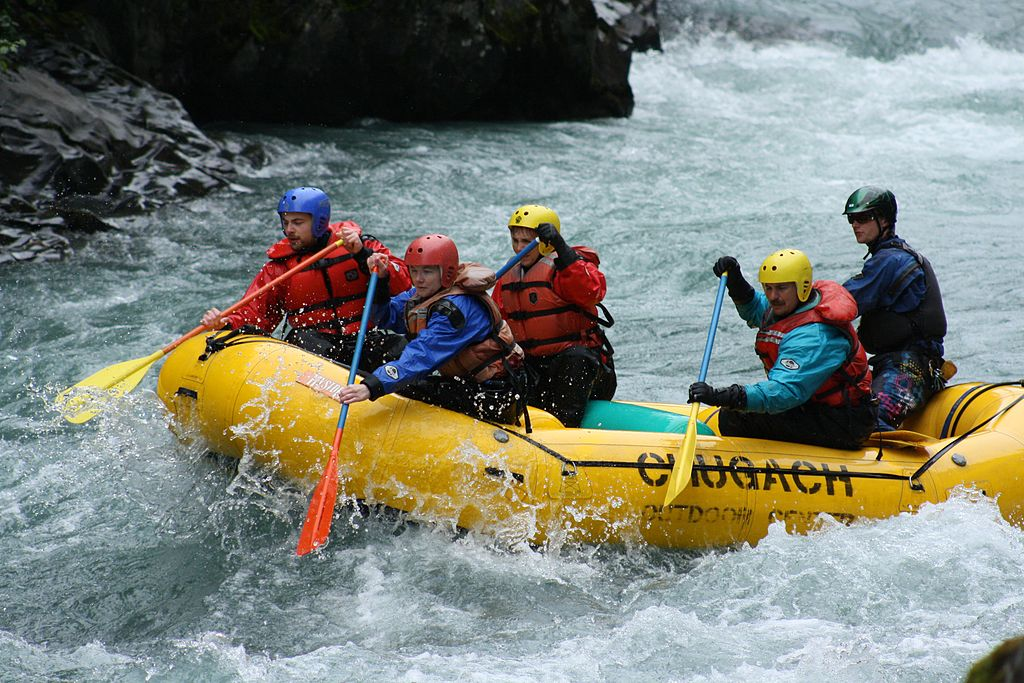 Going white water rafting is one way How to inject some excitement into your travels