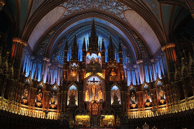 notre dame church montreal